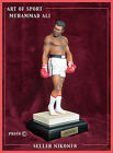 ART OF SPORT MUHAMMAD ALI COLD CAST FIGURINE RARE MOTHER OF PEARL TRUNKS