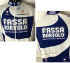 FASSA BORTOLO Cycling Team Jersey NALINI Retro Maglia Pro Tour ITALIA Full Zip