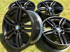19 Factory Genuine BMW 5  6 Series F10 F11 Wheels Rims 19 351M Satin Black OEM