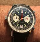 VINTAGE AVIATION BY BREITLING CHRONOGRAPHE SUISSE AUTOMATIC CAL.12 MENS 41mm