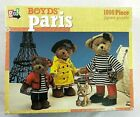 Boyds Bears Pairs France French Jigsaw Puzzle 1000 Piece NEW Sealed