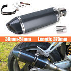 Universal Motorcycle Bike Exhaust Muffler Pipe With DB Killer Slip On 38mm 51mm