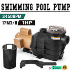 Vevor 1 HP Swimming Pool Pump SP2607X10 In Ground 110V 2 Inch Heavy duty