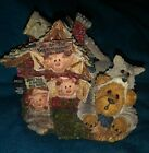 BOYD'S BEARS ~ Bearstone Classic Bearytales Series#6 ~Three Little Pigs Figure