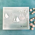 Boat Metal Cutting Dies Stencil Paper Card Album Stamp DIY Embossing Craft Decor