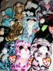 YOU PICK TY BEANIE BOOS CATS RED HEART TAGS JINXY TASHA LIZZIE SPECKLES MORE 6