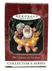 RARE NEW HALLMARK 1998 THE CLAUSES ON VACATION #2 SERIES CHRISTMAS ORNAMENT CUTE