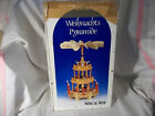 Weihnachts Pyramide German Christmas Nativity Carousel 3 Tiered
