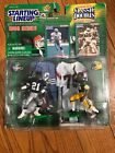 NFL STARTING LINEUP 1998 CLASSIC DOUBLES DEION SANDERS & HERB ADDERLY
