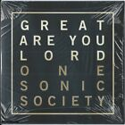 ONE SONIC SOCIETY - Great Are You Lord - Pop Hard Rock Music CD