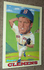 1991 Collectible Sport Art ROGER CLEMENS BOSTON RED SOX Baseball Card Notepad !!