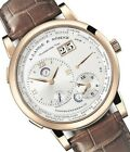 A. Lange & Söhne 116.021  Lange 1 Time Zone Mens Yellow Gold Watch