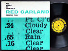 RED GARLAND All Kinds Of Weather LP PRESTIGE 7148 US 1958 DG MONO Paul Chambers