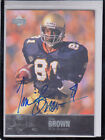 2011 UD COLLEGE LEGENDS TIM BROWN FIGHTIN' IRISH OAKLAND RAIDERS AUTOGRAPH AUTO
