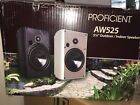 Proficient Audio Systems AW525wht 525 Indoor Outdoor Speakers white  Pair