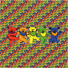 GD Family Bears BLOTTER ART perforated sheet paper psychedelic art