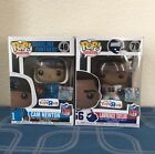 Funko Pop! Football NFL Toys R Us Exclusive Lawrence Taylor 79 Cam Newton 46 Lot