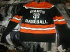 San Francisco Giants MLB Sweater Glow in the Dark Ugly Christmas Holiday Size S