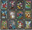 5D DIY Diamond Painting Disney Cartoon Characters 3D Embroidery Home Decor Gift