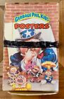1986 Topps Garbage Pail Kids Unopened Box Posters With 36 Original Poster Packs
