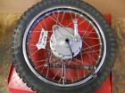 1973 HONDA XL175 REAR WHEEL     #2092