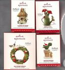 LOT  Hallmark Ornament MARJOLEIN'S GARDEN 2014 2015 2016 2017 Series 1-4