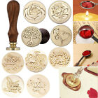 FENORKEY Seal Wax Wooden Stamp Blessing Handle Wedding Initial Invitation Letter