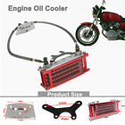 Motorcycle Horizontal Engine Oil Cooler Radiator For 50/70/90/110CC /Racing Bike