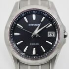Citizen Exceed Radio Wave Control Titanium Men's Watch Eco-drive electric wave H
