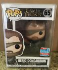 Funko Pop! Game Of Thrones Beric Dondarrion #65 2018 Fall Convention Exclusive