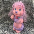Vintage Shampoodle Pink Purple Poodle Puppy Dog Bath Toy 12 Hasbro 1991