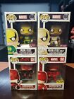 Funko Pop Marvel Iron Fist Gold Daredevil Pop Lot! Hot topic exclusives