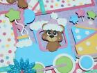 Birthday Girl 2 premade scrapbook pages 12x12 paper piecing diecuts Layout