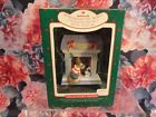 1988 HALLMARK Keepsake Windows of the World 4 Joyeux Noel French Poodle Ornament