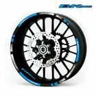 For SUZUKI B-King #style 1 Stripes Sticker Rim Decal Stereo Rubber rim pasters