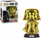 Funko Star Wars Pop Galactic Convention Exclusive SWCC 2019 Set of 6 Gold Chrome