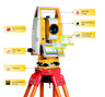 TOTAL STATION 600M Reflectorless total station N3