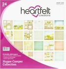 Heartfelt Creations Double Sided Paper Pad 12X12 24 Pkg Happy Camper