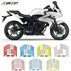 For YAMAHA XJ6  #style 2 Motorcycle wheel paster Stereo Rubber rim pasters