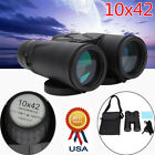 10 X 42 Binoculars Telescope High Magnification High Times Compact for Outdoor