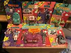 COMPLETE SET OF 13 MOC OF PEE WEE HERMAN'S PLAYHOUSE FIGURES FROM 1988