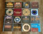 Def Leppard 16 CD Single Lot - Slang, Pyromania, Goodbye, Now, Tonight, Yeah! +