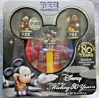 PEZ MICKEY MOUSE 80 YEARS COLLECTION IN TIN (A)
