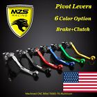 Clutch Brake Levers for Kawasaki KX250 KX250F KX450F KX125 KX65 KX85 2000-2018