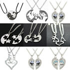 Matching Set Friendship Couple Necklace Pendant Best Friends Gifts BFF Jewelry