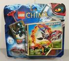 Lego Legends of Chima Minifigure Set Ring Of Fire With Razar 70100