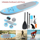 Foldable Stand Up Paddle Inflatable Surfboard with Pump Safety Rope Tools Kit