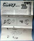 Vintage MPC Parts - '76 Chevy Caprice Instruction Sheet