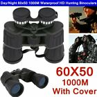 Day Night 60x50 Military Army Zoom Powerful Binoculars Optics Hunting Camping BB