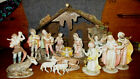 FONTANINI ITALY Vintage Nativity Set 120 5 Inch Scale16 Pieces